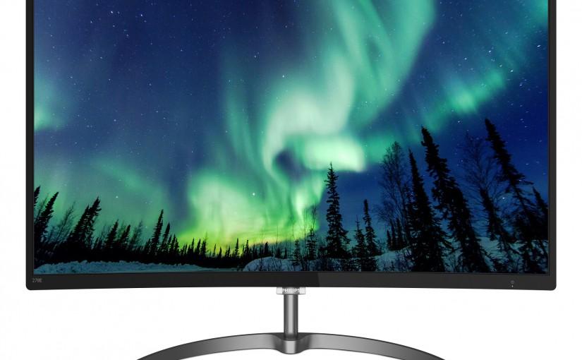 Experiență de culoare completă:  Cel mai nou monitor curbat Philips oferă o gamă cromatică extinsă