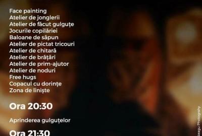 Program Festivalul Luminii - Cercetasii Romaniei