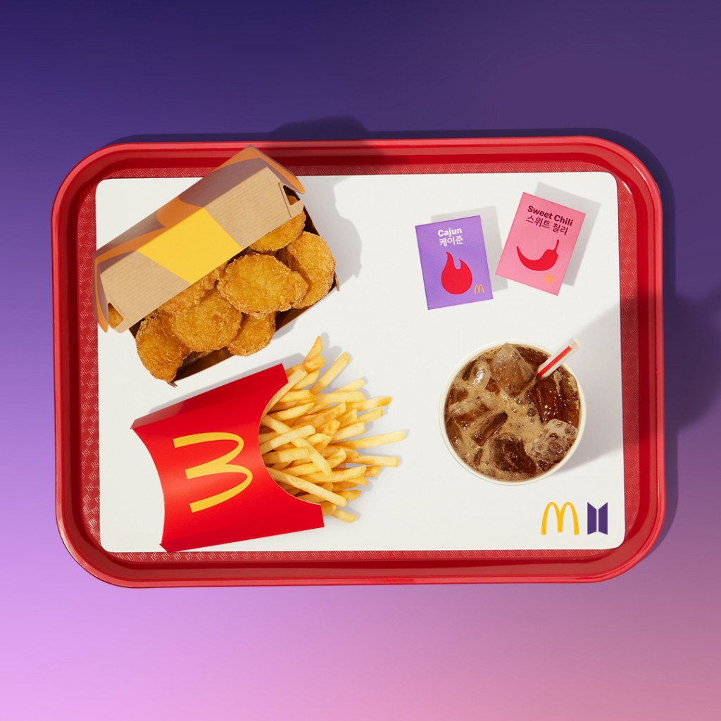 McDonald's The BTS Meal